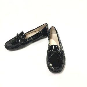 Donald Pliner Vola Black Driving Loafer Size 7